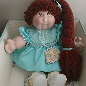 Cabbage Patch porcelain collection